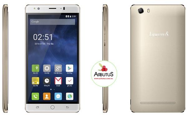 Điện thoại arbutus ar5 pro đẹp không tỳ vết