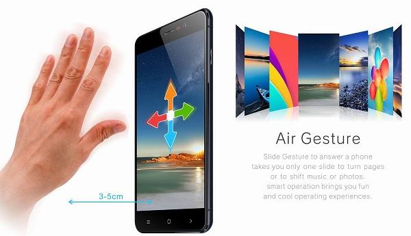 Điện thoại Arbutus Ar5 điều khiển tự động trên không