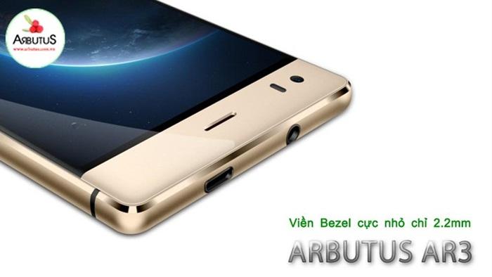 Thiết kế điện thoại Arbutus Ar3 viền Bezel cực mỏng