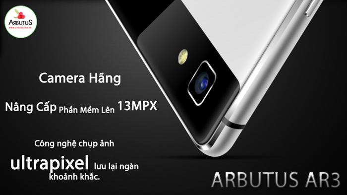 Arbutus dùng công nghệ chụp ảnh Ultrapixel sắc nét