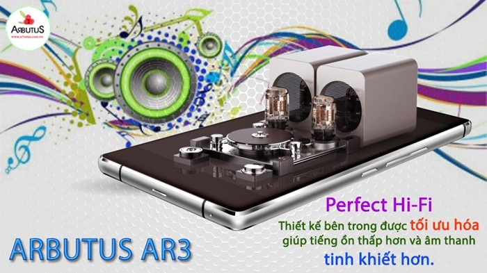 Arbutus Ar3 với công nghệ âm thanh Perfect Hifi