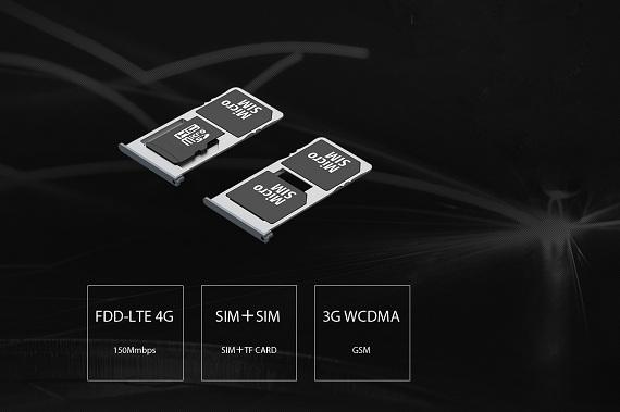 Công nghệ mạng 3G,4G nhanh mạnh, 2 sim 2 sóng tiện ích