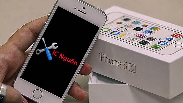 iphone hỏng ic nguồn tối đen màn hình