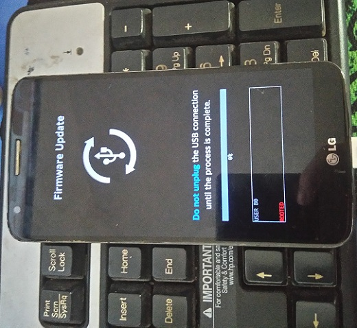 Sửa điện thoại LG G2 không sạc được