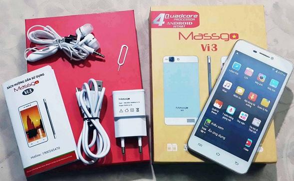 điện thoại Massgo Vi2, Vi3 giá rẻ