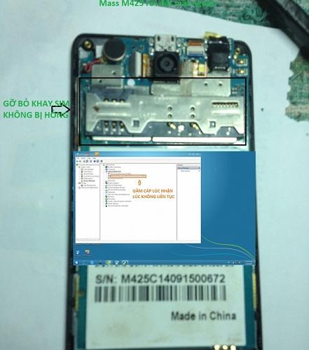 Sửa chữa điện thoại Masstel mất nguồn