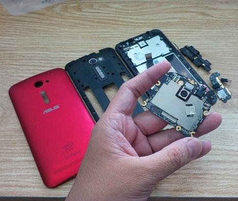 Sửa chữa điện thoại Asus Zenfone 2 uy tín lấy ngay