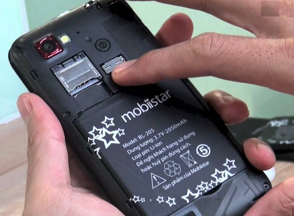 Sửa điện thoại Mobiistar bị sập nguồn