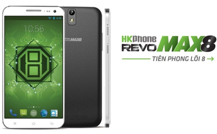 Thay màn hình hkphone revo max 8